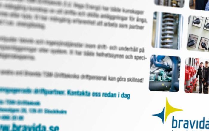 Annons Bravida TSM Driftteknik