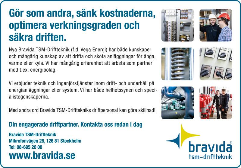 Bravida Annons Halvsida Nordiska Projekt