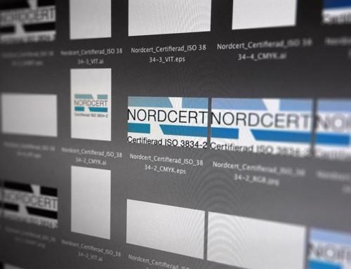 Nordcert Logotyper