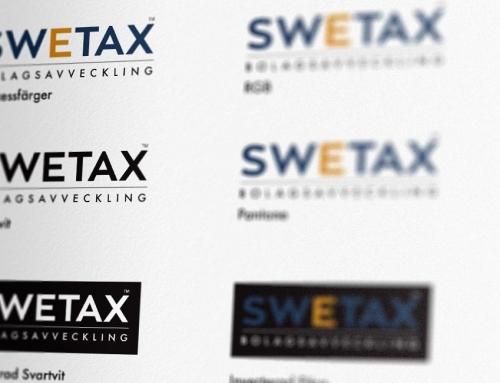 Swetax Bolagsavveckling får ny logotyp och grafisk profil