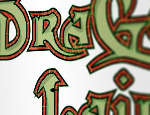 Vi renoverar Dragon's Lairs lågupplösta logga