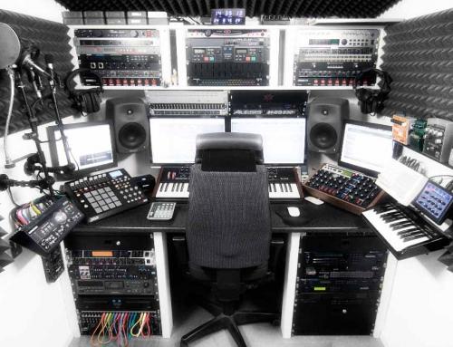 Vi uppdaterar vår ljud och videostudio