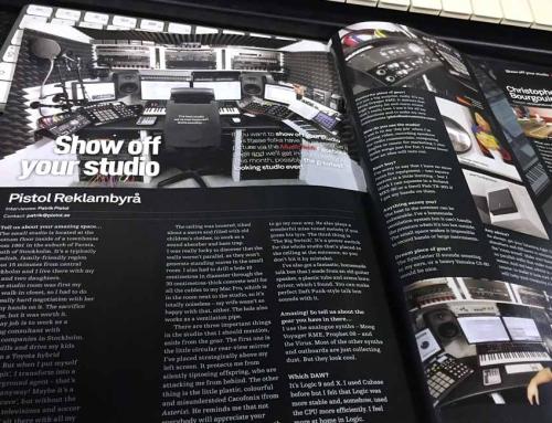 Vår ljudstudio är populär i Brittisk musiktidning