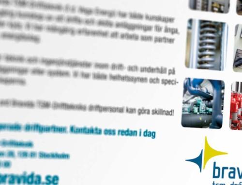 Annons för Bravida TSM Driftteknik i fackpress