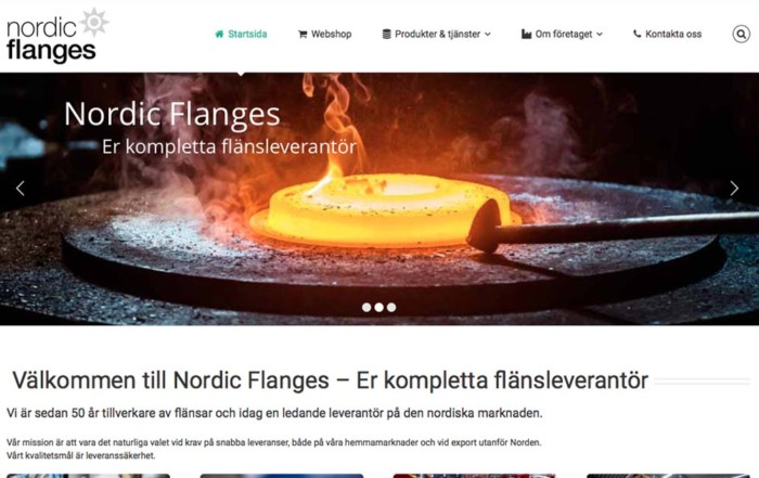Nordic Flanges Webb