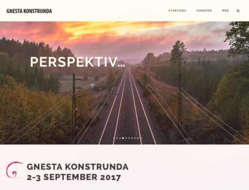 Ny webbplats åt föreningen Gnesta Konstrunda
