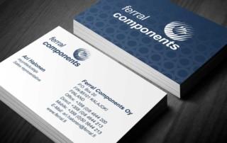 Ferral Components Oy visitkort