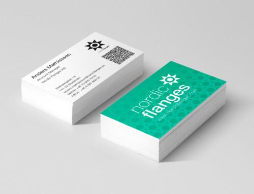 Nya visitkort till Nordic Flanges AB