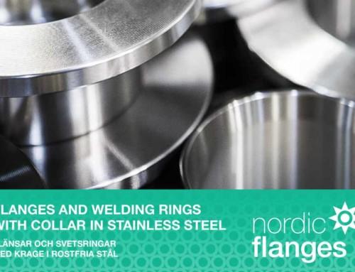 Vi har skapat en 114-sidig katalog för Nordic Flanges