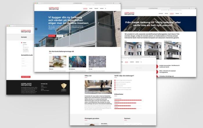 Norrlands Balkongmontage AB Webbplats Nyhet