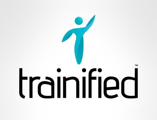 Vi tar fram logotyp till Trainified