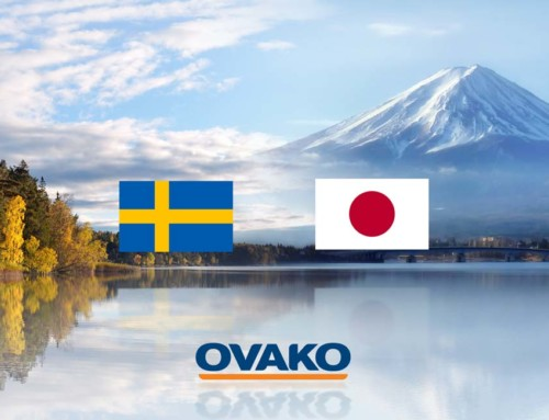 Vi hjälper Ovako att ta fram pressentationsmaterial