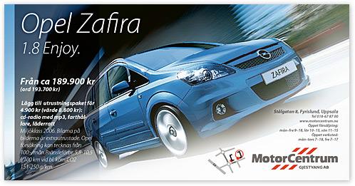 Opel annons